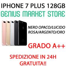 IPHONE 7 PLUS 128GB NERO ROSA BIANCO ARGENTO ROSSO ORO BLACK SILVER GOLD ROSE