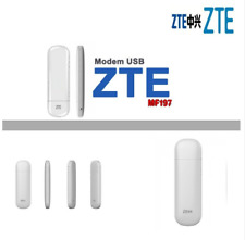 ZTE MF197 3G Modem is the new USB dongle 14.4Mbps 3G USB Surfstick
