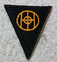 """WW2 US Army 83rd Infantry """"Thunderbolt"""" Division SSI Patch Authentic No Glow NOS"""