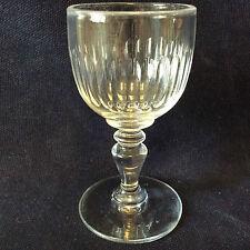Baccarat Verre H 10 cm modèle Renaissance XIX ème en cristal de taillé