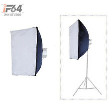 """Photo Studio 60 x 80cm Softbox Diffuser 24"""" Reflective for Flash Strobe Light"""
