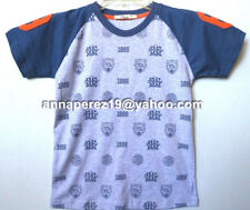 20% OFF! AUTH JUSTEES BOY'S GRAPHIC RAGLAN TEE SIZE 6 / 5-6 YRS BNWT P 249