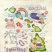 Hawaiian HELLO KITTY HAWAII REUSABLE SHOPPING BAG CUTE ALOHA DESIGN Beach Tote