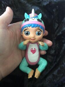 New Playmates Teenie Tiny Toes Ticklish Tess Doll Unicorn Hat Fun Children Toy
