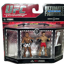 NEW Ultimate Fighting Championship UFC Micro Fighters BJ Penn GSP Set MIP