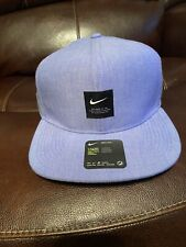 New Nike Pro Dri Fit Blue Strapback Hat Nike Golf Box Logo