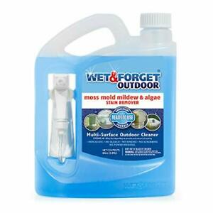 Wet and Forget Outdoor Ready to Use Moss, Mold, Mildew & Algae Stain Remover