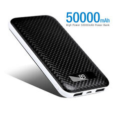 Poweradd 50000mAh Power Bank Dual USB Portable External Battery Phone Charger