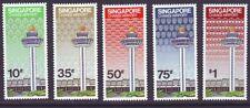 Singapore 1981 SC 382-386 MNH Set Changi Airport Opening