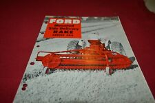 Ford Tractor 503 Mounted Side Delivery Rake Dealers Brochure AMIL15
