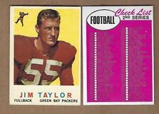 1959  TOPPS   FOOTBALL  JIM  TAYLOR  ROOKIE  #  155  EX  MINT