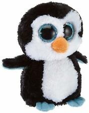 "Ty Waddles - Penguin Beanie Boos Stuffed 6"" Plush Toy (New) Licensed"