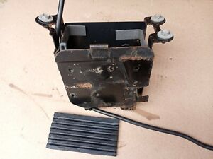 1978 1979 SUZUKI GS750 BATTERY BOX 750 with BOLTS TUBE ELECTRICAL MOUNTING PLATE