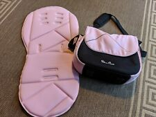 silver cross pioneer wayfarer seat liner changing bag pink