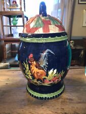 Tracy Porter Stonehouse Farm Collection Large Canister Cookie Jar