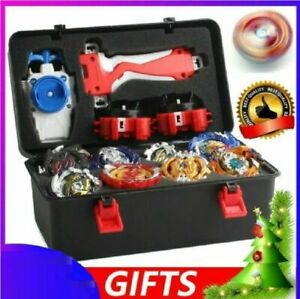 New Boxed bayblade Beyblade Burst Set With 2 Launcher Fight Battle Xmas Gift UK