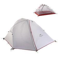 Naturehike 2 Person Outdoor Tent Gray Ultralight Waterproof  Tent NH16S013-S20D