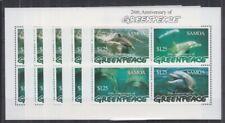 W442. 5x Samoa - MNH - Marine Life - Dolphins - Greenpeace