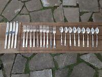 Vintage Oneida Hotel Silver Plate Cutlery