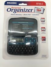 Roledex Electronics Personal Organizer Sealed Packaging