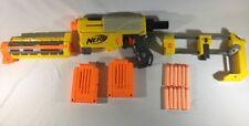 Nerf N-strike- Recon CS-6 Pump Action Dart Gun W/ Stock - 2 Magazines - 12 Darts