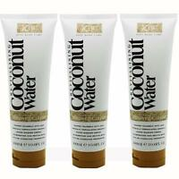 3 x Coconut Water Shower Creme 300ml Each Revitalising Ladies Body Wash Gel Care
