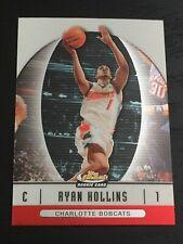 2006-07 Finest RYAN HOLLINS RC #55 basketball card ~ UCLA / Bobcats rookie ~ F1