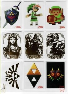2016 Enterplay Nintendo Legend Of Zelda Decal/Fun Tats Link Ganon Triforce