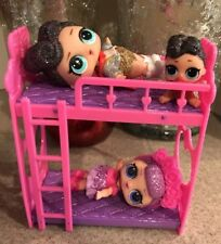 LOL Bunk Bed for an LOL Doll, LOL Doll Accessory / Furniture, Doll Not Included