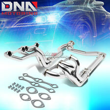 FOR 92-00 CHEVY GMC C/K STAINLESS STEEL 4-2-1 LONG TUBE EXHAUST HEADER+Y-PIPE