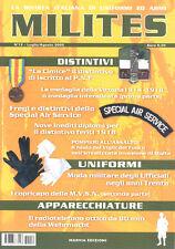 MILITES n12 - rivista militaria magazine MVSN PNF Wehrmacht Special Air Service
