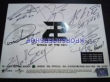BEAST Shock of the New Era CD Autographed Signed Promotional Promo B2ST Beauty