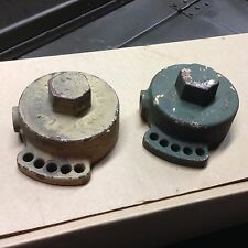 Housing for coil spring on M23 cradle USED - rebuild or fix your 50 cal mount