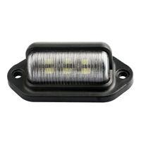 LED Kennzeichen Beleuchtung Licht Lampe ABS Wasserdicht LKW Auto 12-24V DE