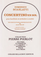Scarlatti - Concertino in G - for oboe and piano