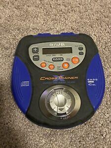 Aiwa Cross X Trainer XP-SP90 Personal Portable CD Player Blue Black