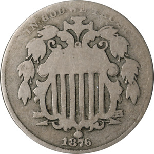 1876 Shield Nickel Great Deals From The Executive Coin Company