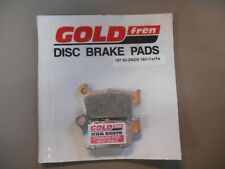Goldfren Disc Disk Brake Pads fit REAR KX250F 04-19 KX450F 06-18 KLX450R 08-12