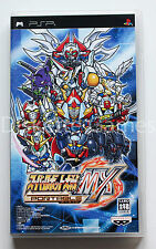 SUPER ROBOT TAISEN MX PORTABLE - PSP - NTSC JAPAN ULJS-00041 WARS JAP