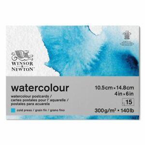 Winsor & Newton Watercolour Painting Postcard Pad