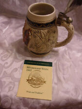 The Anheuser-Busch Collectors Club 1997 Pride & Tradition Beer Stein CB5