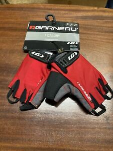 ! Garneau 1 Calory Small Red Cycling Gloves