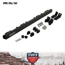 BA BF 6 Cyl Ford Falcon XR6 Turbo FPV F6 Proflow Billet Fuel Rail Kit Black New