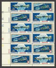 US Stamps - Apollo Soyuz 1975 - Two Sheets of 12 stamps each MINT CONDITION L@@K