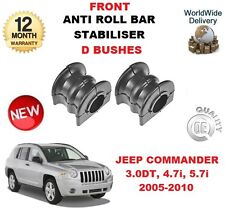 FOR JEEP COMMANDER 3.0 4.7 5.7 2005-2010 2x FRONT ANTI ROLL BAR RUBBER D BUSHES