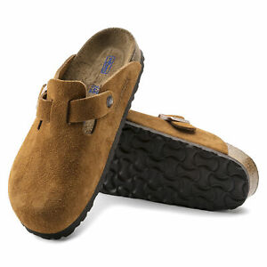 Birkenstock Boston BS Mink Suede Leather Clog 1009543 - NEW - Choose Size