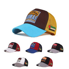 Trucker Basecap Mütze Unisex Must-Have Vintage Baseball Cap Hut Netz Mesh Dubai