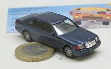 3094: Mercedes Benz   600 SEL,  blau met.