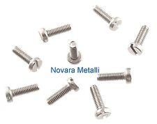 100 microviti TC taglio M1x4 inox A2 viti vis fente tornillos ranura screws