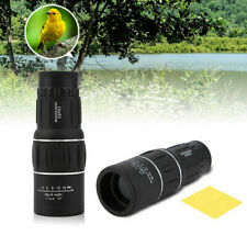 16x52 Dual Focus Zoom Optic Lens Monocular Telescope For Hunting Camping Outdoor